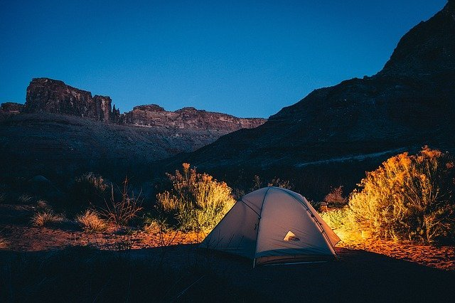 image depicting a tent as essential camping gear