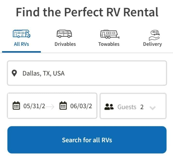 How To Rent An RV