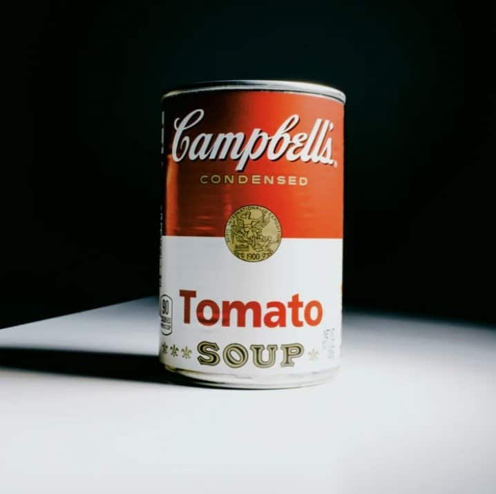 can of tomato soup