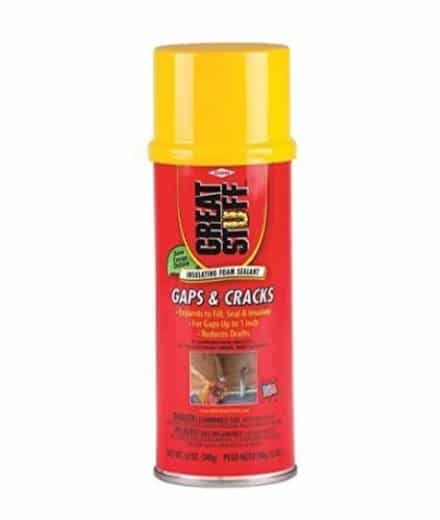 spray foam for keeping mice out of your camper